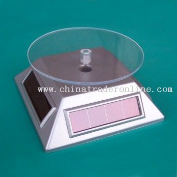 Solar powered POP Display Stand from China