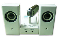 MP3/PC portable speaker