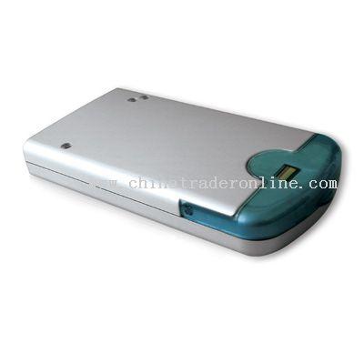 fingerprint hard disk