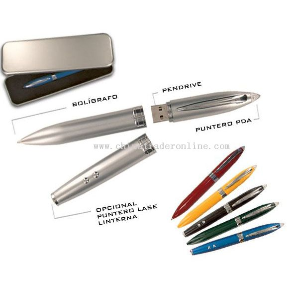 USB FLASH DISK+BALL PEN from China