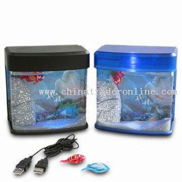 USB Mini Desktop Novelty Aquarium