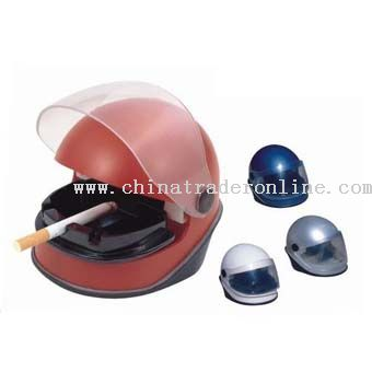 Helmet USB Smokeless Ashtray