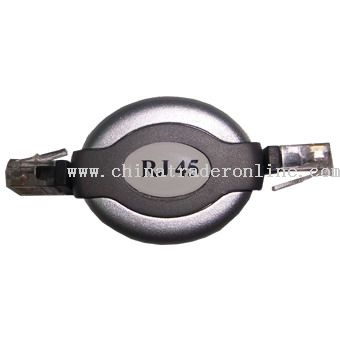 RJ45 to RJ45 Retractable Cable
