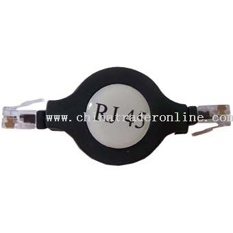Retractable RJ45 Ethernet Cable