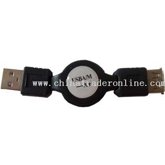 Retractable USB Cable