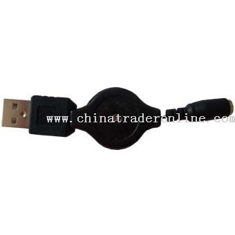 USB Retractable Charger Cable