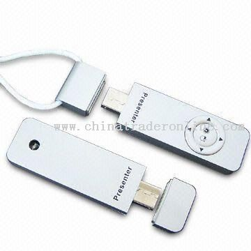 Multifunctional USB Flash Drive with RF Wireless Mouse and Keyboard