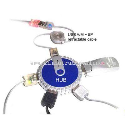 USB 4 port HUB from China