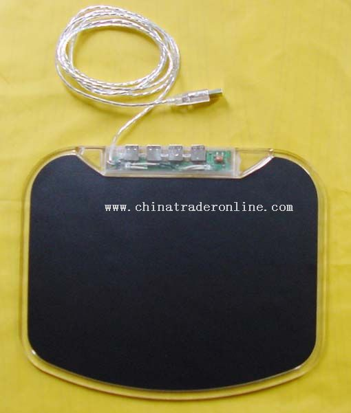 Flash USB HUB Mouse pad