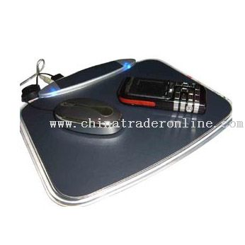 Mouse pad with 5-Port USB Hub from China