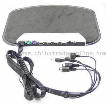 Multifuctional USB Led Mouse Pads