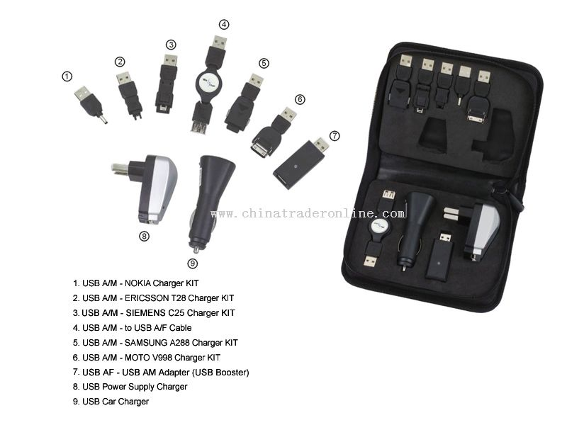 Multi-function USB Charger pack