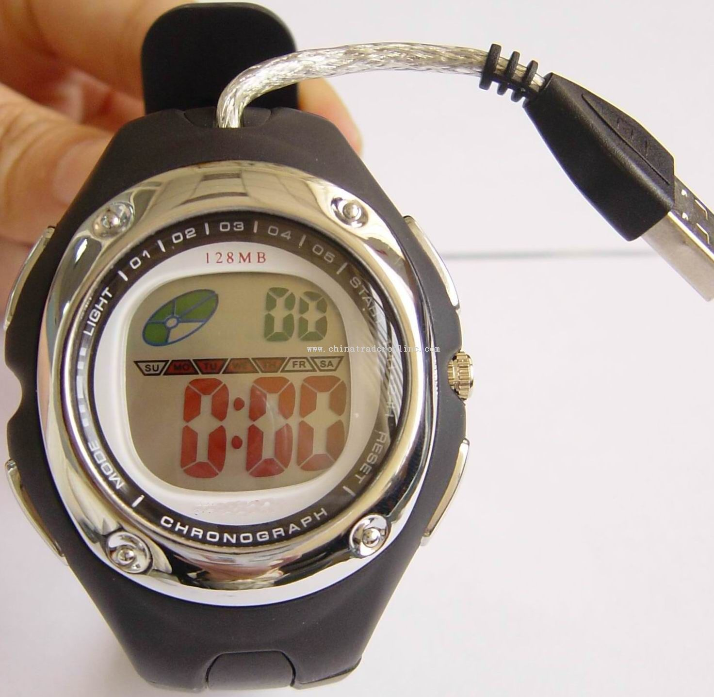 USB FLASH MEMORY WATCH