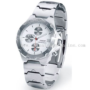 Brushed silver Classic Watch