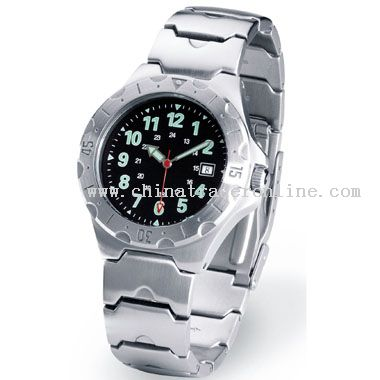 Brushed silver Watch