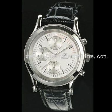 Shiny silver Watch