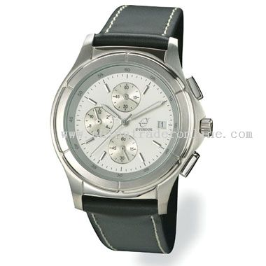 brushed & shiny silver Classic Watch