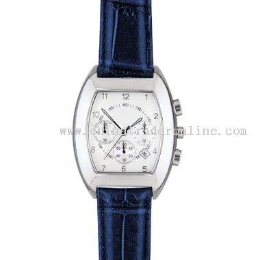 shiny silver Classic Watch