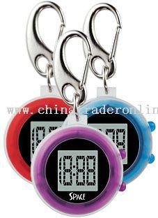 Jumbo digit LCD Keychain