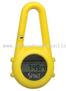 Keychain/Clip Watch with LCD Module from China