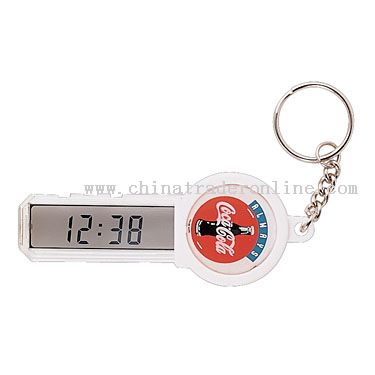Keychain with LCD See-through display