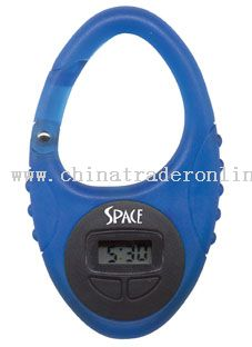 Simple function LCD Clip Watch