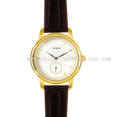 Shiny gold Gents Watch