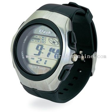 Brushed silver Plastic Watch