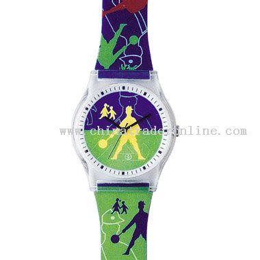 transparent Plastic Watch