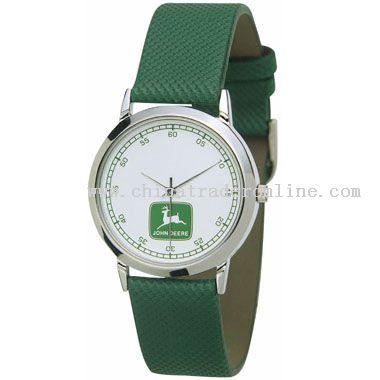 shiny silver Promotional Watch