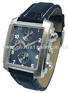 Quartz Analogue Metal Watch