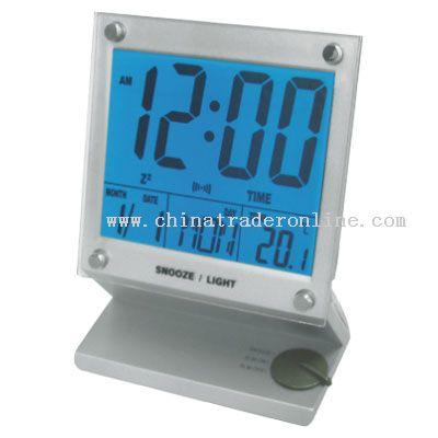 Calendar & Clock With El Light