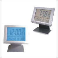 Radio Controlled Clock With Hygrometer & Thermometer