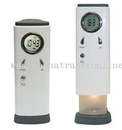 clock& torch