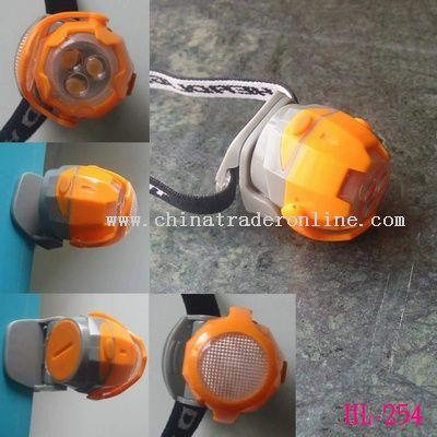 Focus 3LED Headlamp Revolving Key