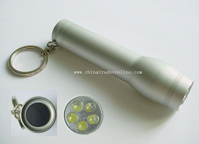 LED MINI FLASHLIGHT WITH KEYCHAIN