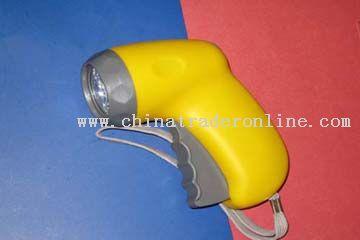 three LED light Environment-protecting Flashlihgts