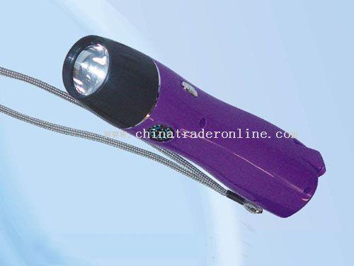 Hand shake flashlight