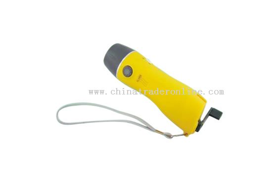 Handshaking Flashlight