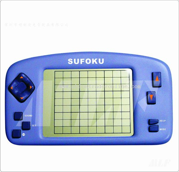 Electronic Sudoku Puzzle Game