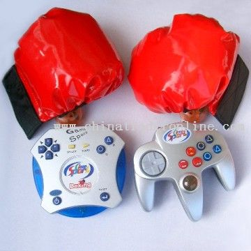 Interactive Boxing With Wireless Joypad