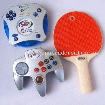 Interactive Pingpong With Wireless Joypad