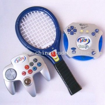 Interactive Tennis With Wireless Joypad