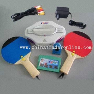Play PingPong games in front of the TV