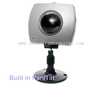 Network Camera with Built-in Remote Pan / Tilt
