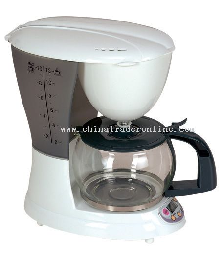 Coffee maker 12 cups Programmable digital timer from China