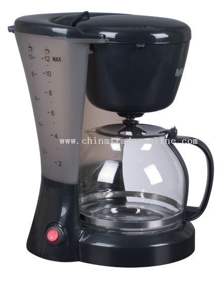 Coffee maker 12 cups Swing-out