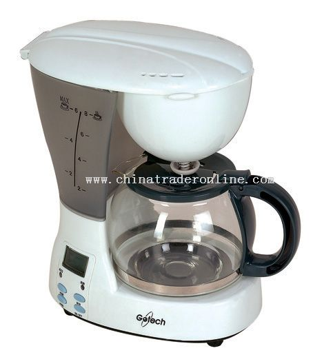 Coffee maker 6 cups Program digital timer