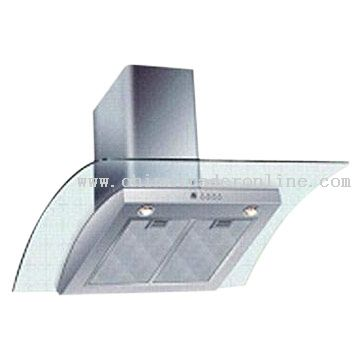High-Efficiency Range Hood with Powerful Suction