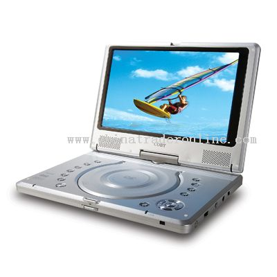 10 TFT PORTABLE DVD/CD/MP3 PLAYER WITH SWIVEL SCREEN